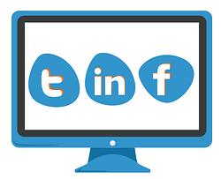 Promote website content through social media