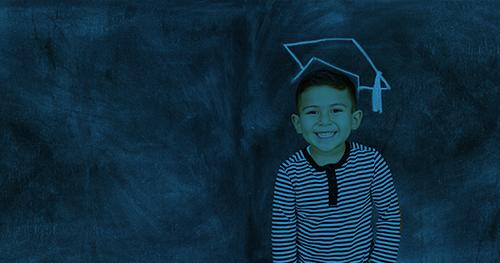 Kinder-graduate