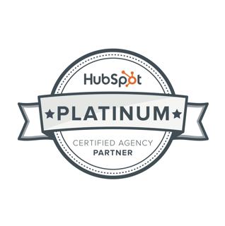 ROI Online Platinum HubSpot Partner Agency Logo