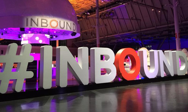 HubSpot Inbound Conference Letters Graphic