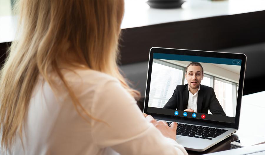 woman-watching-short-form-video-computer