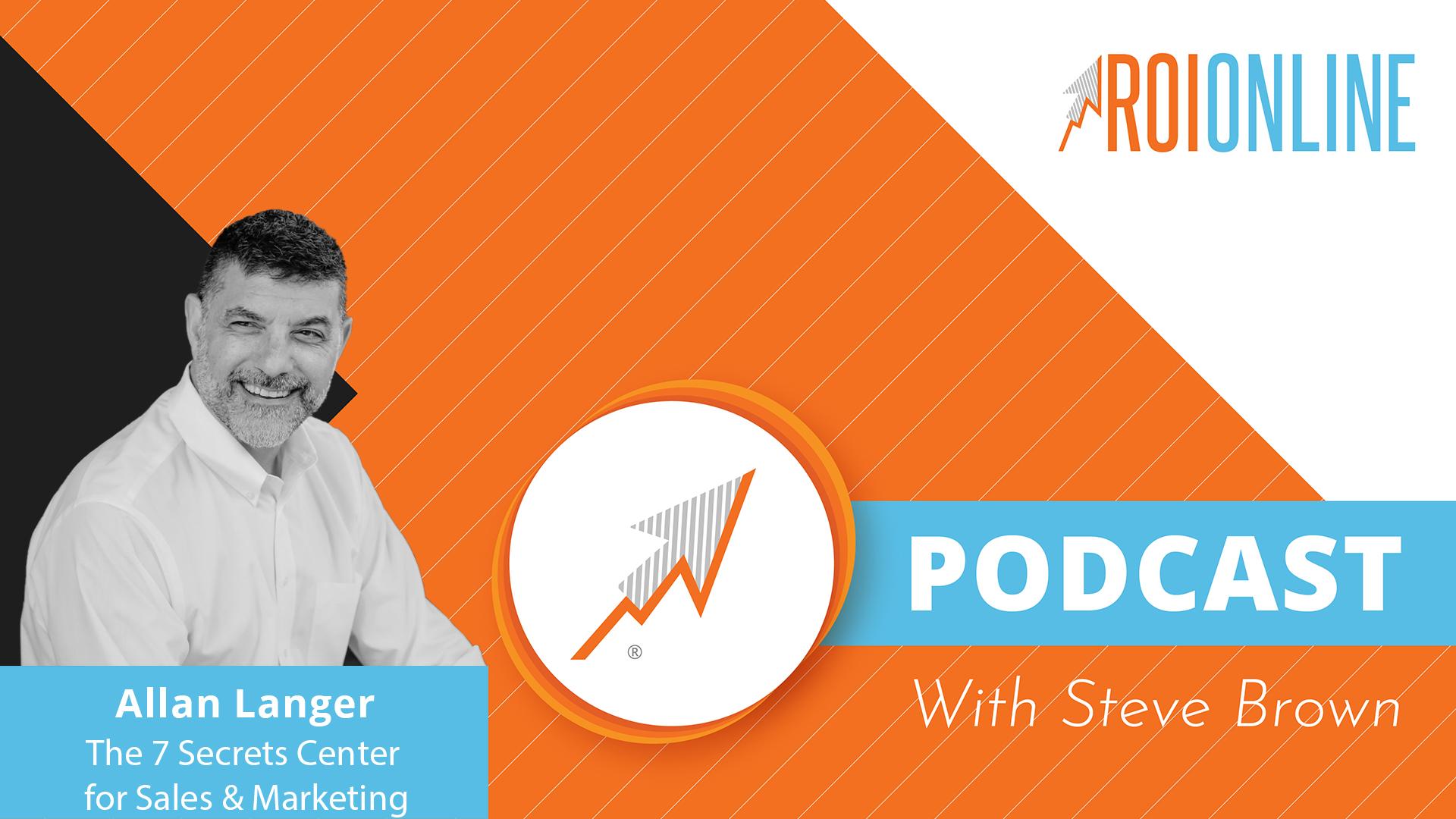 podcast thumbnail on an orange background