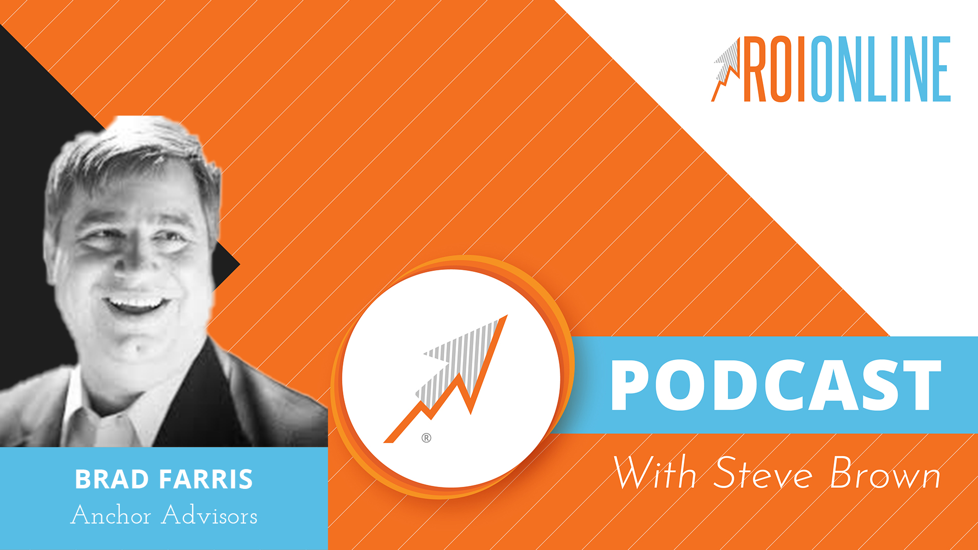 Brad Farris podcast thumbnail graphic