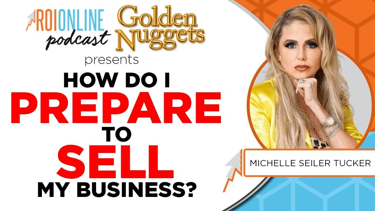 how do I prepare to sell my business colorful podcat thumbnail