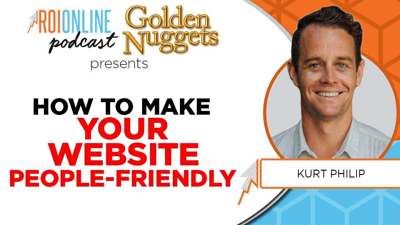 how to make your website more people friendly colorful podcast thumbnail