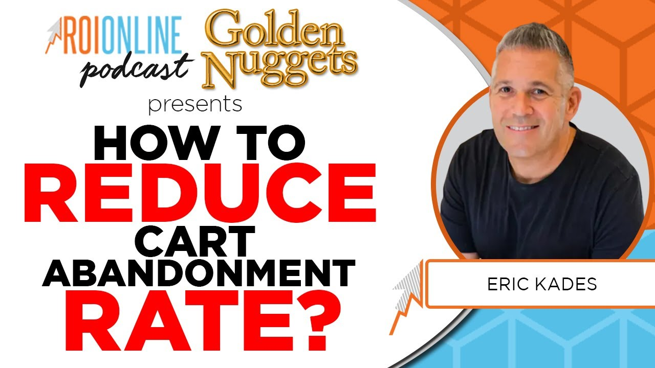 how to reduce cart abandoment rate podcast thumbnail