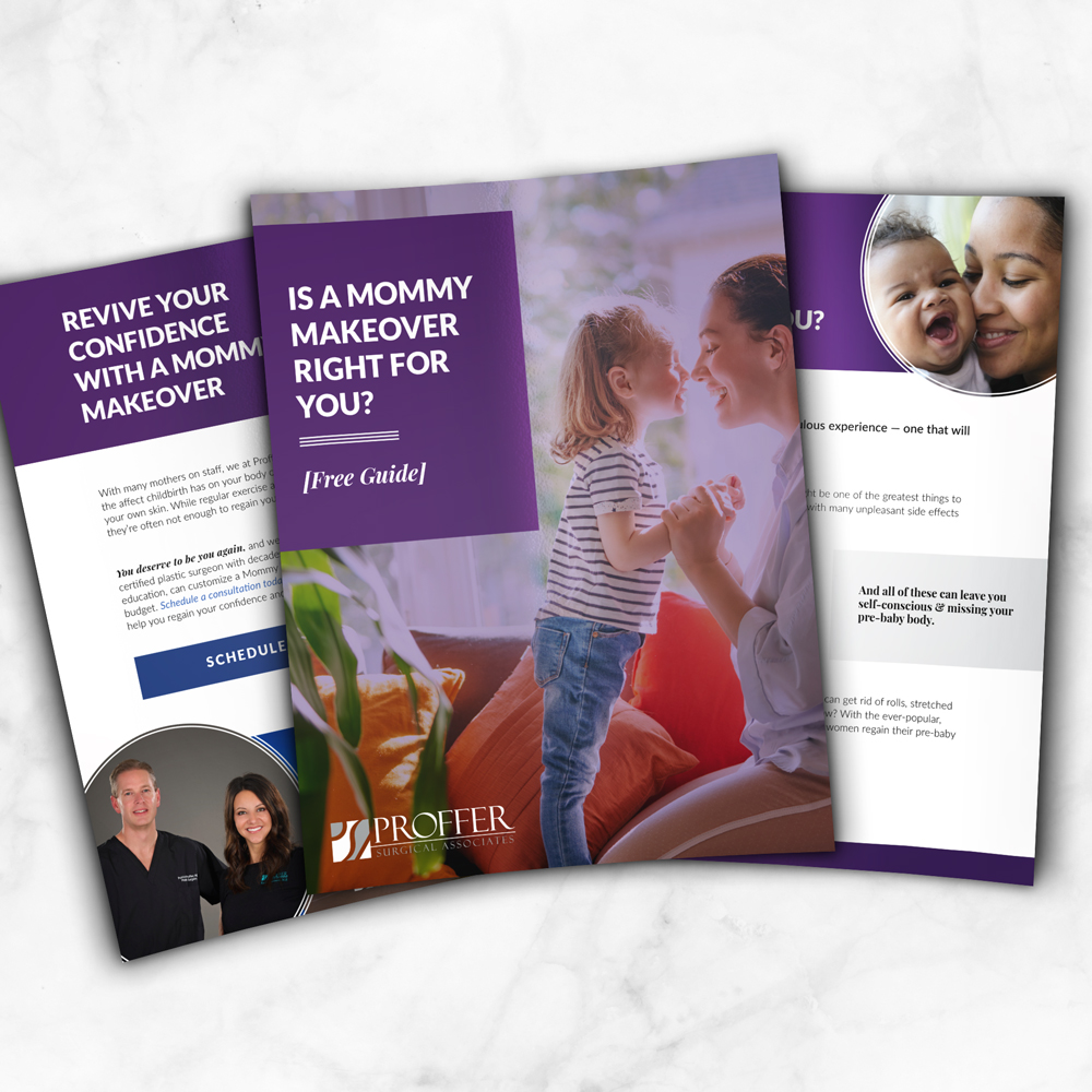 Is A Mommy Makeover Right For You? - Design and Content by ROI Online Graphic