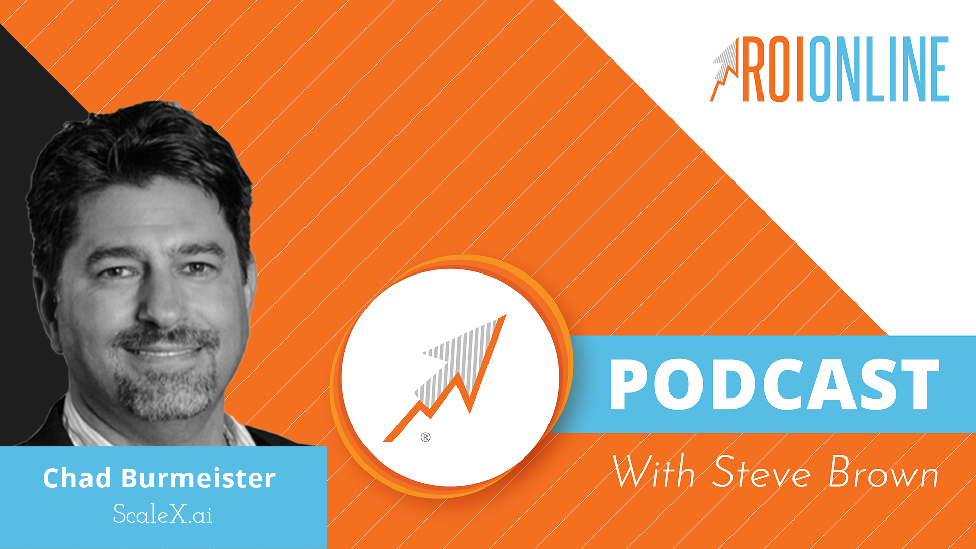 ROI Online Podcast thumbnail graphic Chad Burmeister