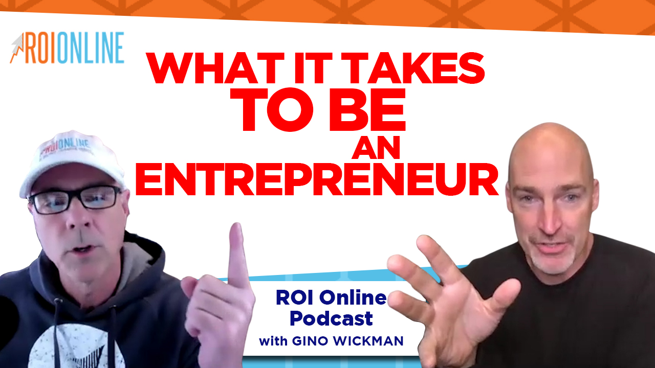 roi online podcast thumbnail with red letters
